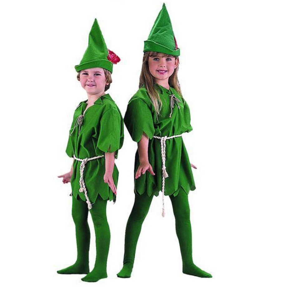 Kids Peter Pan Robin Hood Elf Costume