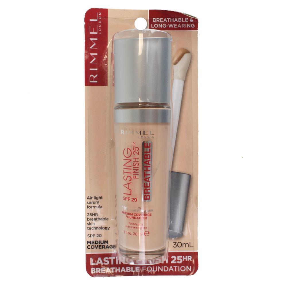 2 x Rimmel Lasting Finish Foundation SPF20 30mL