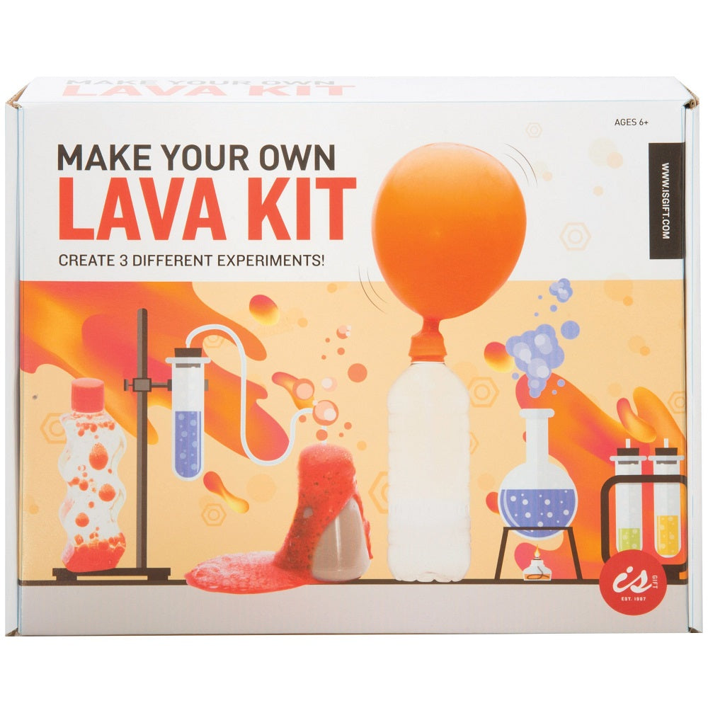 Sci-Play Make Your Own Lava Kit Box Set - Kids Science Kit