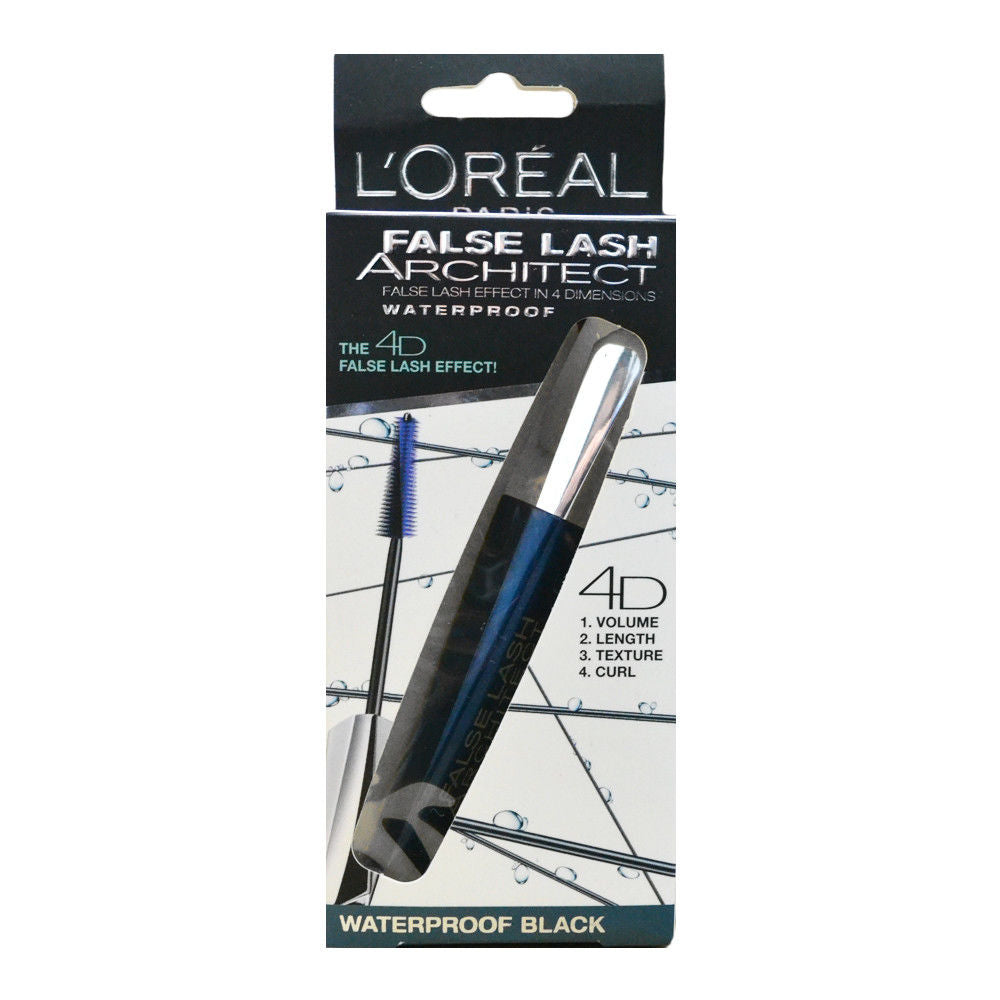 L'Oreal Lash Architect 4D Mascara - Waterproof Black