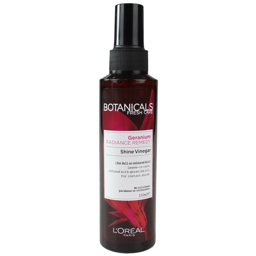 L'Oreal Botanicals Geranium Radiance Remedy Shine Vinegar 150mL
