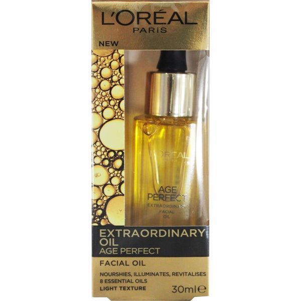 2 x L'Oreal Extraordinary Oil Age Perfect Facial Oil 30mL