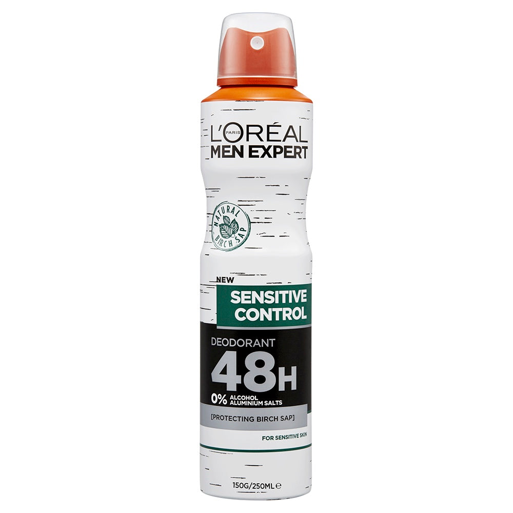 L'Oreal Men Expert Hydra Sensitive Control Deodorant 48H 250ml