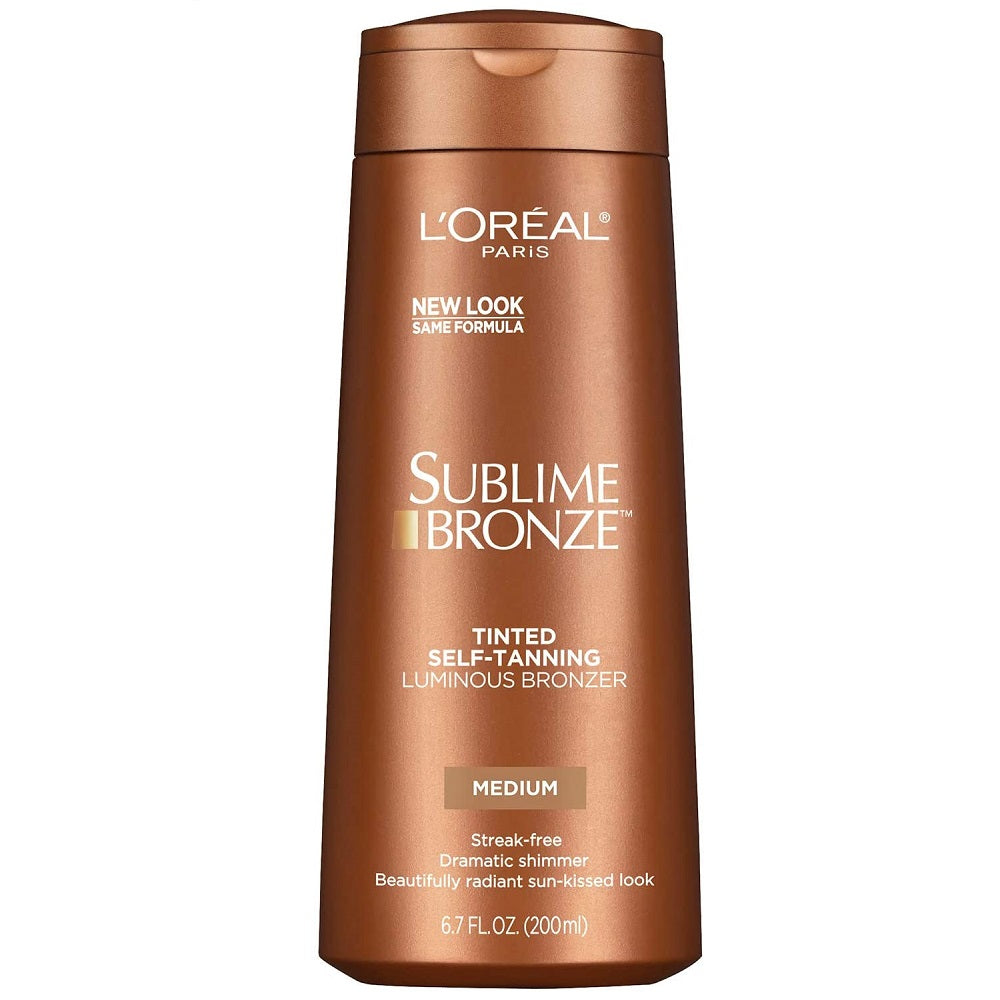 L'Oreal Sublime Bronze Luminous Bronzer Self-Tanning Lotion 200mL