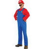 Adult Super Mario Brothers Costume - Luigi or Mario