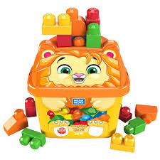 Mega Bloks Laughing Lion Jumbo Blocks 25 Pieces