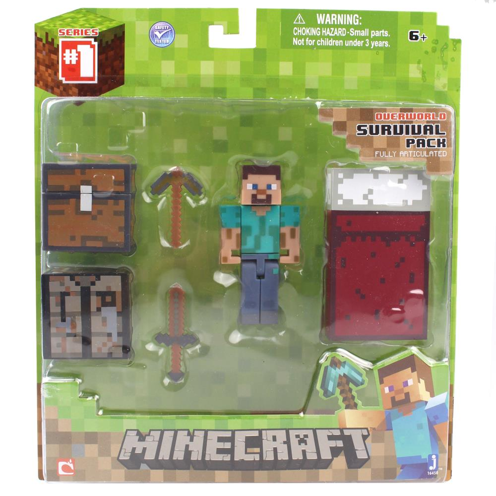 The Minecraft Core Player Survival Pack Series 1