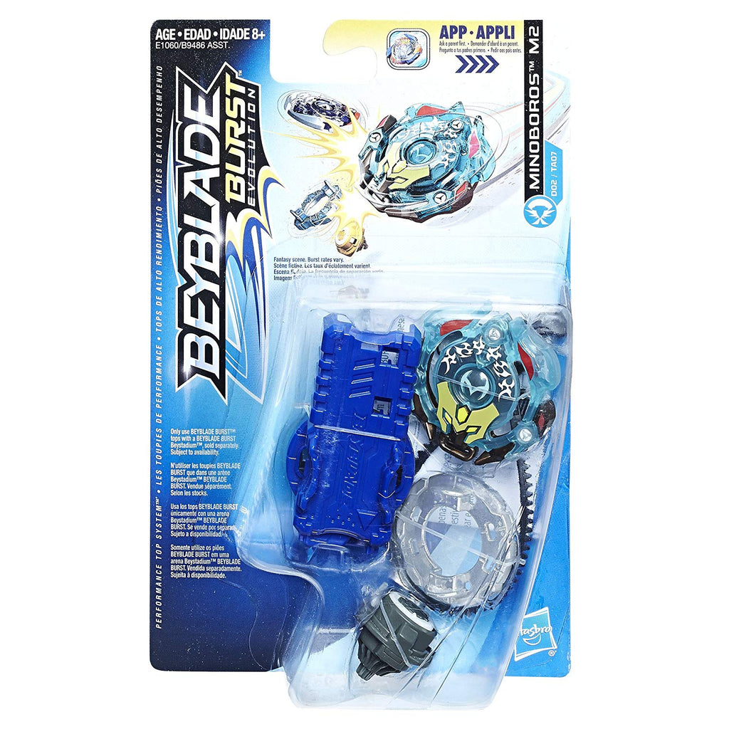 Beyblade Burst Evolution Starter Pack - Battle Top & Launcher - Minoboros M2