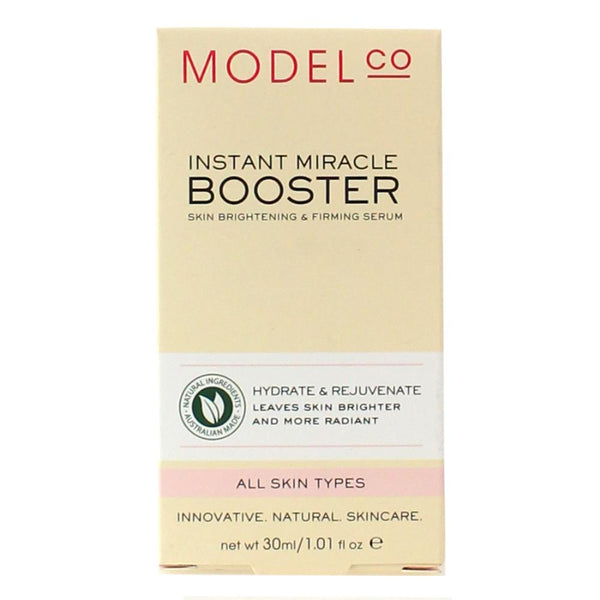 2 x ModelCo Instant Miracle Booster Serum - Skin Brightening & Firming Serum 30mL