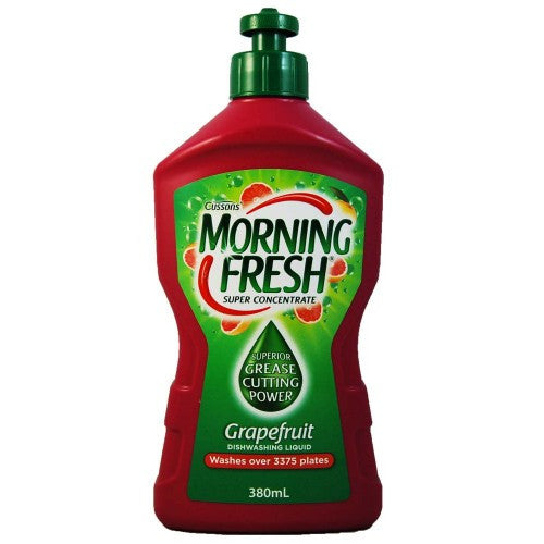 Morning Fresh Super Concentrate Grapefruit Dishwashing Liquid 380mL
