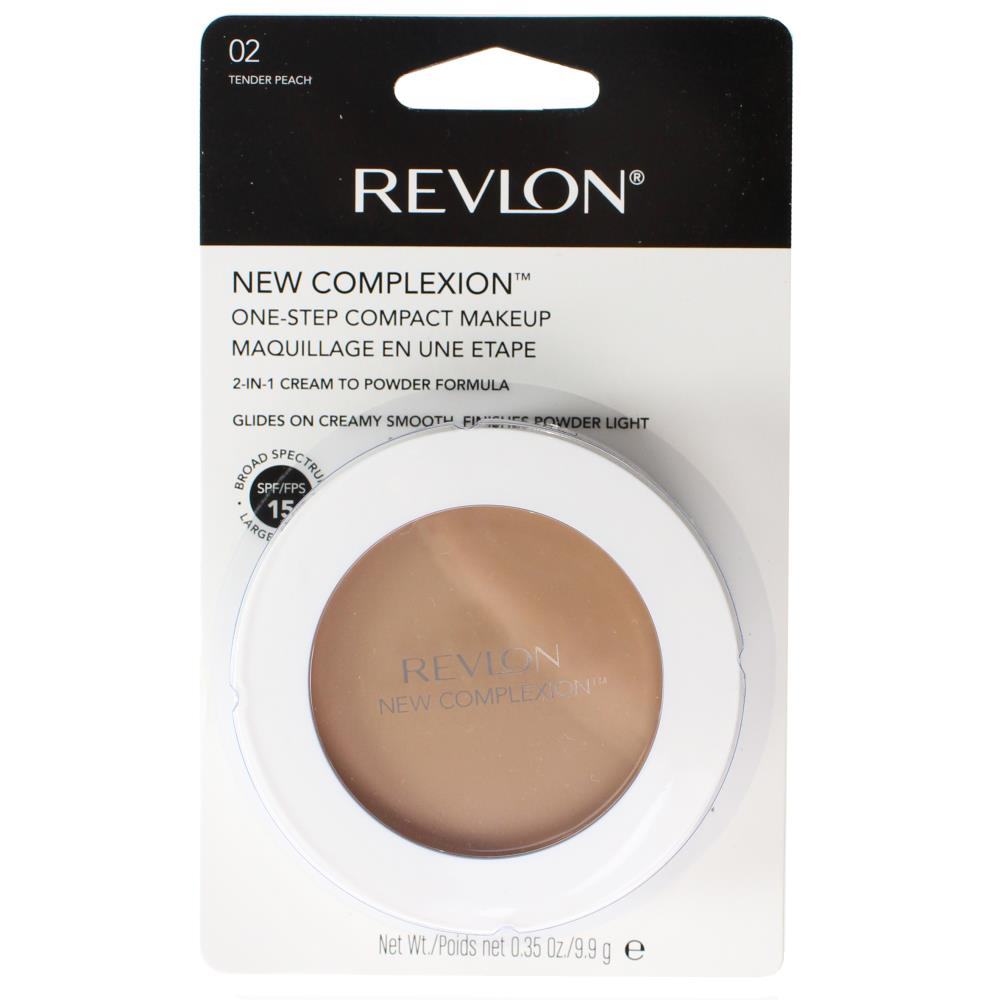 Revlon New Complexion One Step Compact Makeup - 02 Tender Peach