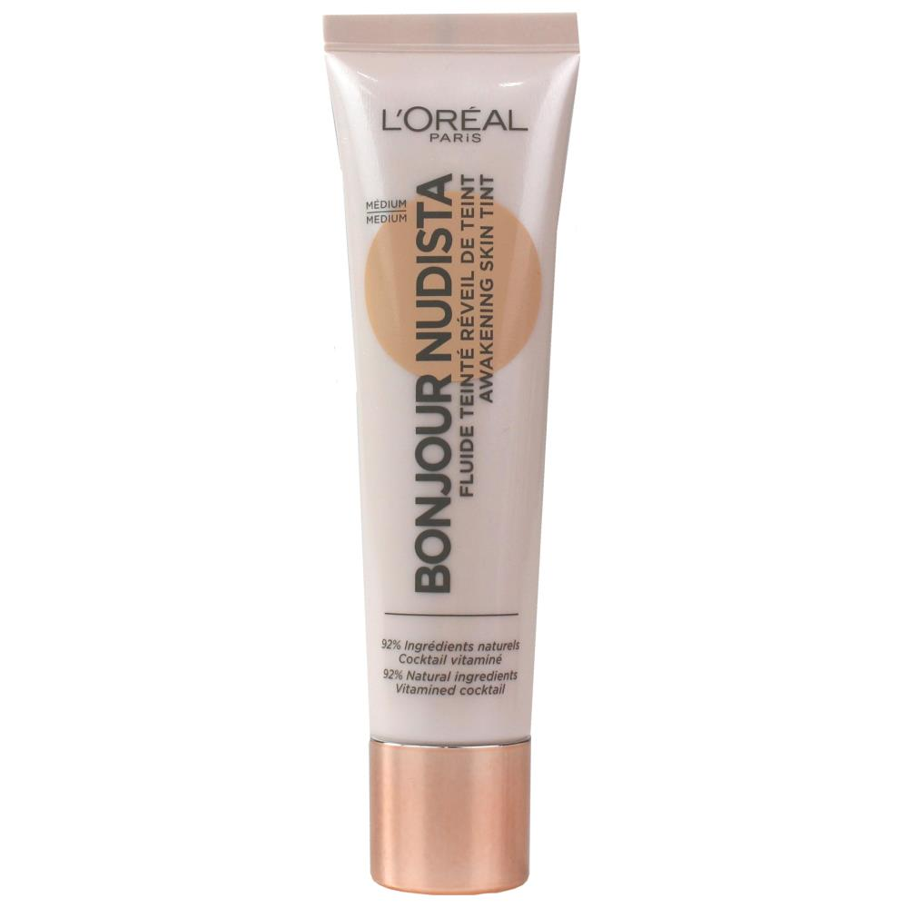 3 x L'Oreal Bonjour Nudista Awakening Skin Tint in Medium