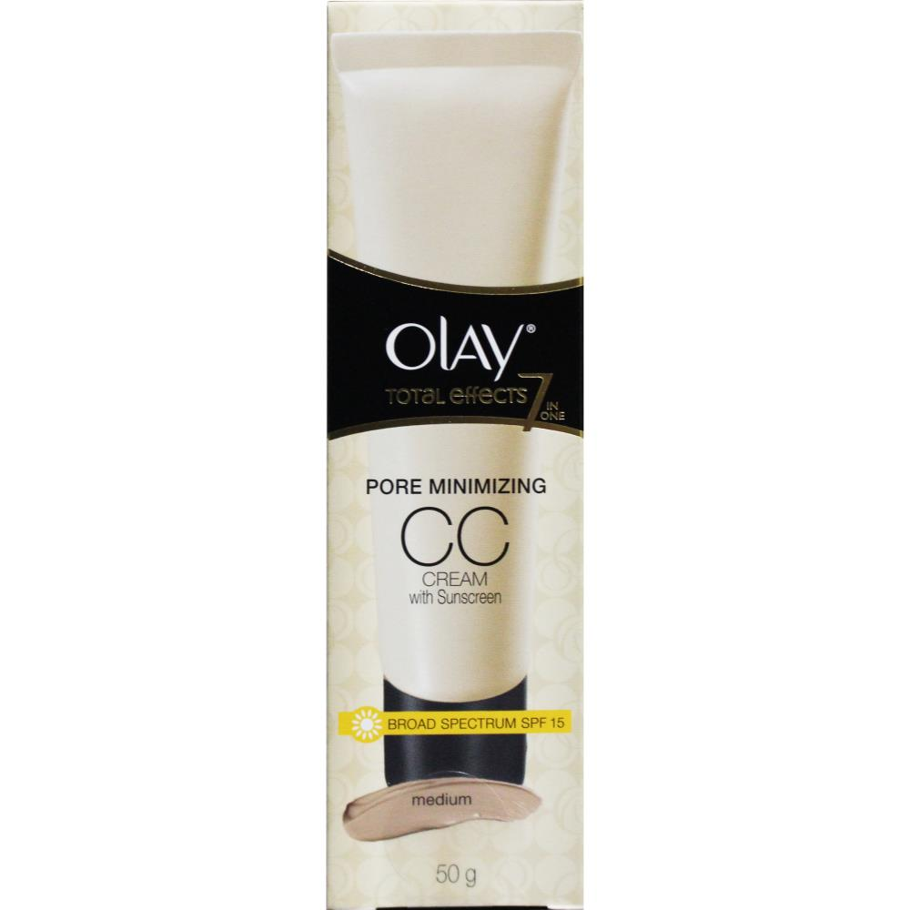 Olay Total Effects 7 in 1 Pore Minimizing CC Cream 50g - Medium