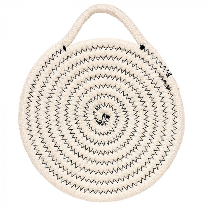 Ladelle Oliver Grey Rope Trivet Pot Rest