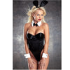 3 Piece Sexy Playboy Bunny Costume Accessories - Headband, Cuffs & Bow Tie