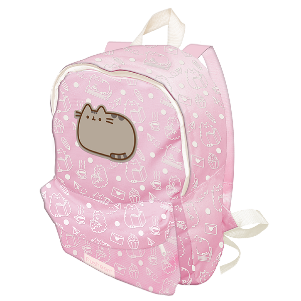 Pusheen Sweet & Simple Pink Backpack with Front Pocket from Blueprint