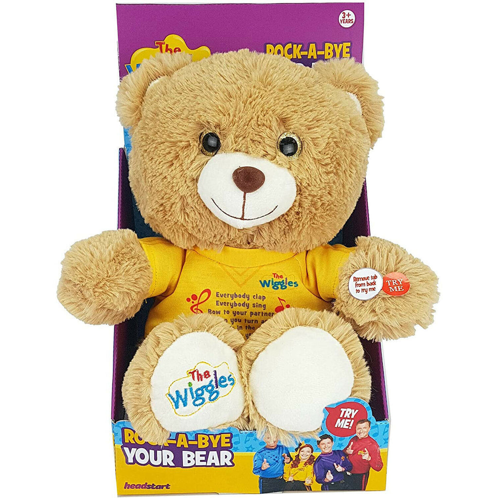 The Wiggles Musical Rock A Bye Bear Plush