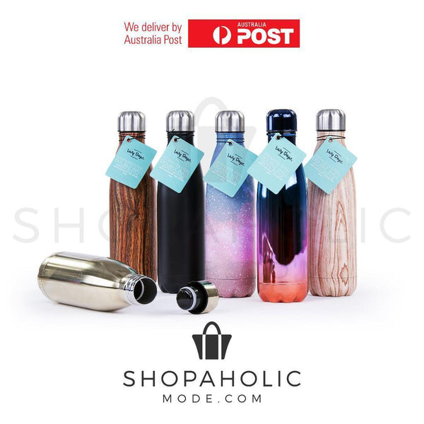 Stainless Steel 500ml Double Wall Insulated Drink Bottle