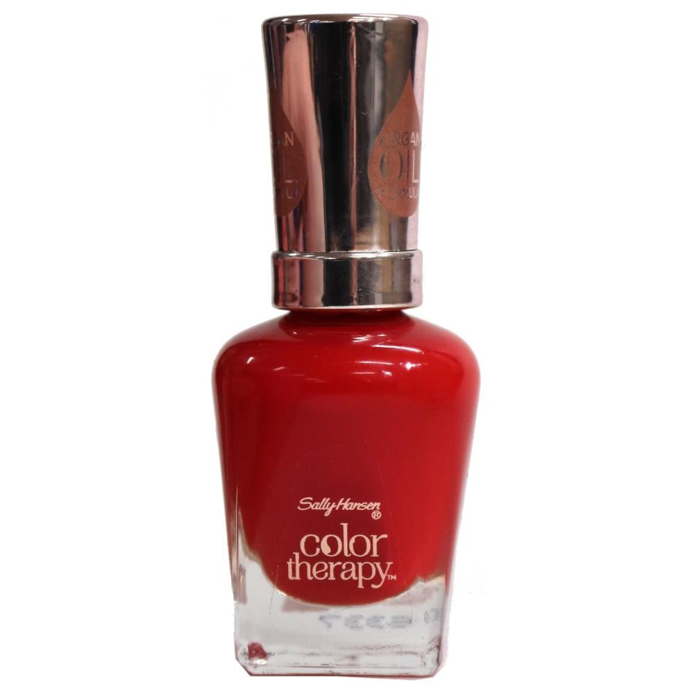 Sally Hansen Colour Therapy Nail Polish 340 Red-Lance