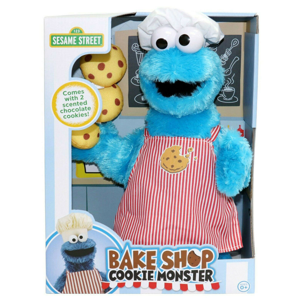 Sesame Street Baker Shop Cookie Monster Scented Plush 33cm