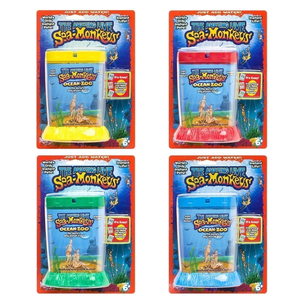 The Amazing Live Sea Monkeys Ocean Zoo Assorted Colours