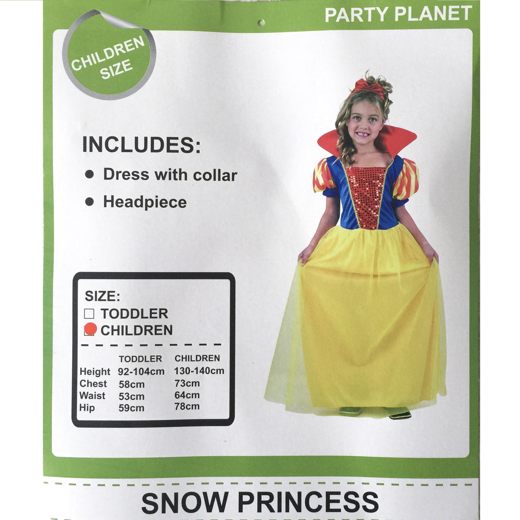 Kids Disney Snow White Halloween Costume