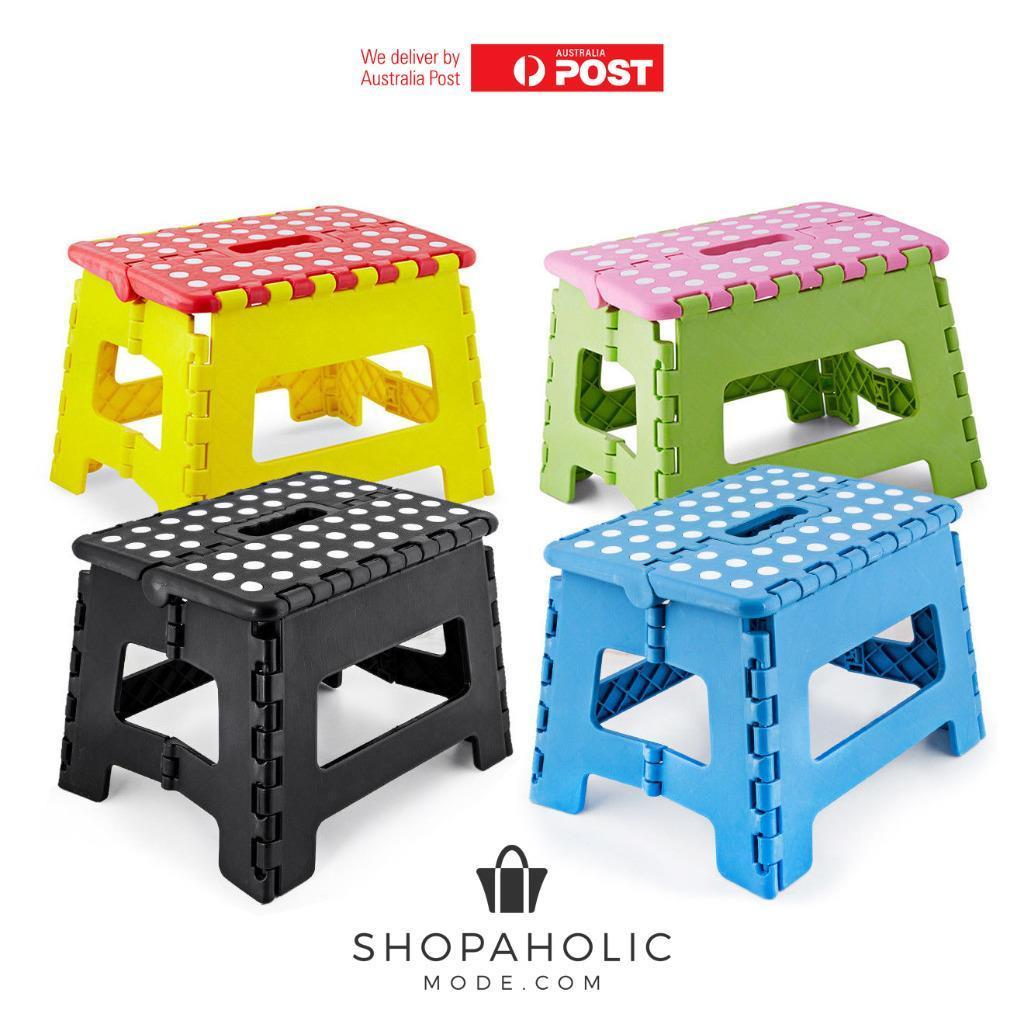 Plastic Easy Folding Step Stool