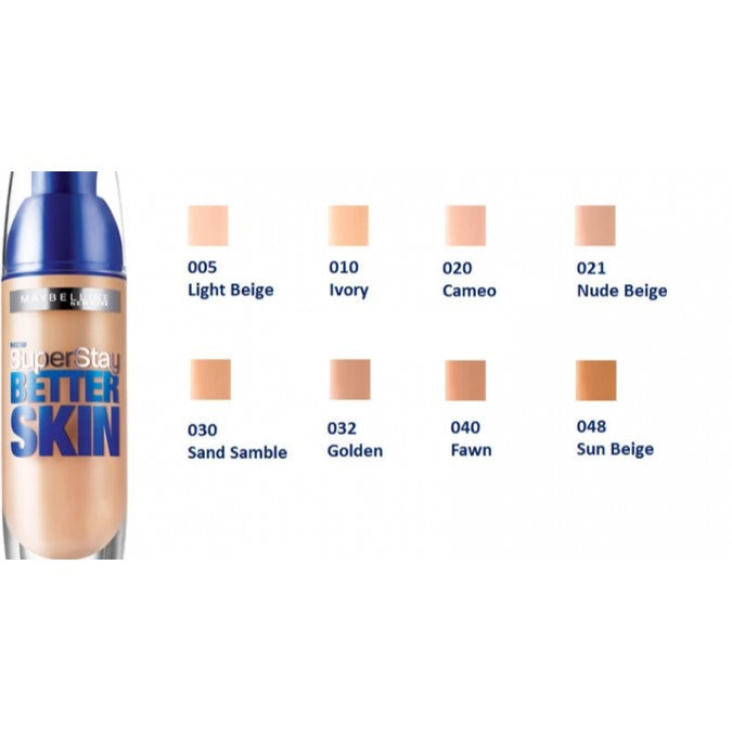Maybelline Superstay Better Skin Foundation 30mL