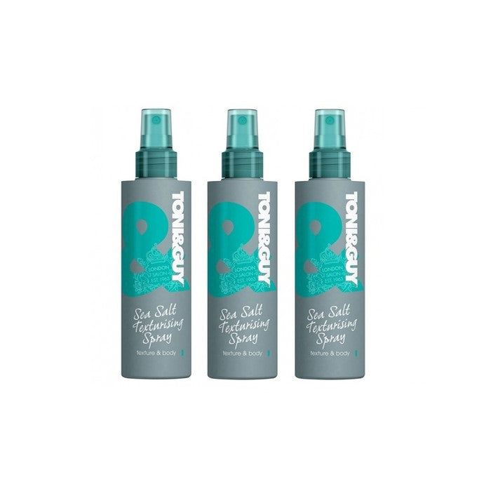 3 x Toni & Guy Sea Salt Texturising Spray 200mL