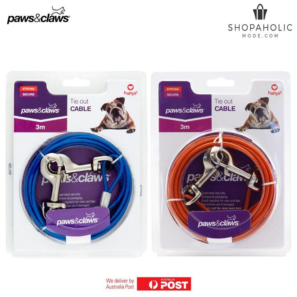 Dog Tie Out Cable 3M