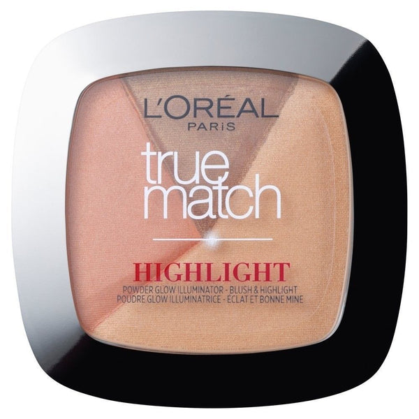 L'Oreal True Match Highlight Powder Glow Illuminator - 102.D/W Golden Glow 9g