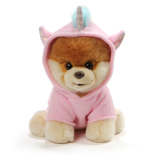 GUND Boo - The World's Cutest Dog Dressed as Unicorn Plush Toy 22cm