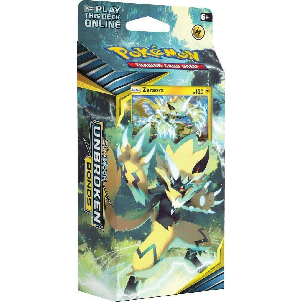Pokemon TCG Sun & Moon Unbroken Bonds Theme Deck - Zeraora