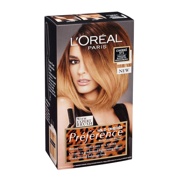 L'Oreal Hair Colour - Wild Ombre, Ombre Touch & Intense Ombre Varieties