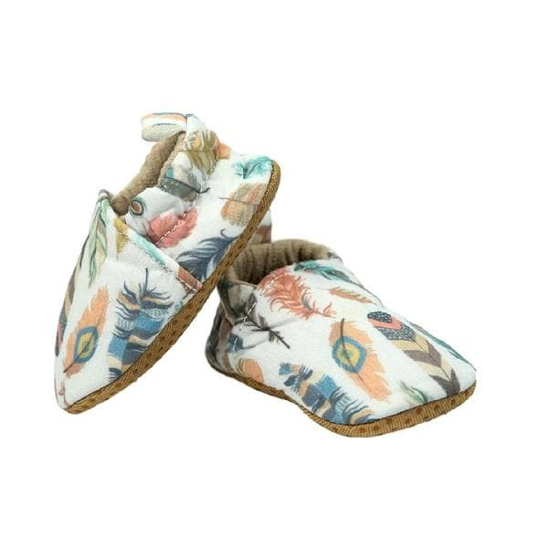 Feather Baby Moccasins