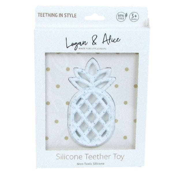 Pineapple Silicon Teethers - 4 clours