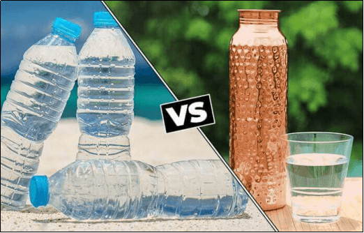 5 Reasons Why Copper Water Bottle Is Better Than Plastic Water Bottle
