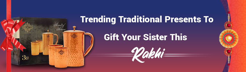 Trending Traditional Presents To Gift Your Sister This Rakhi