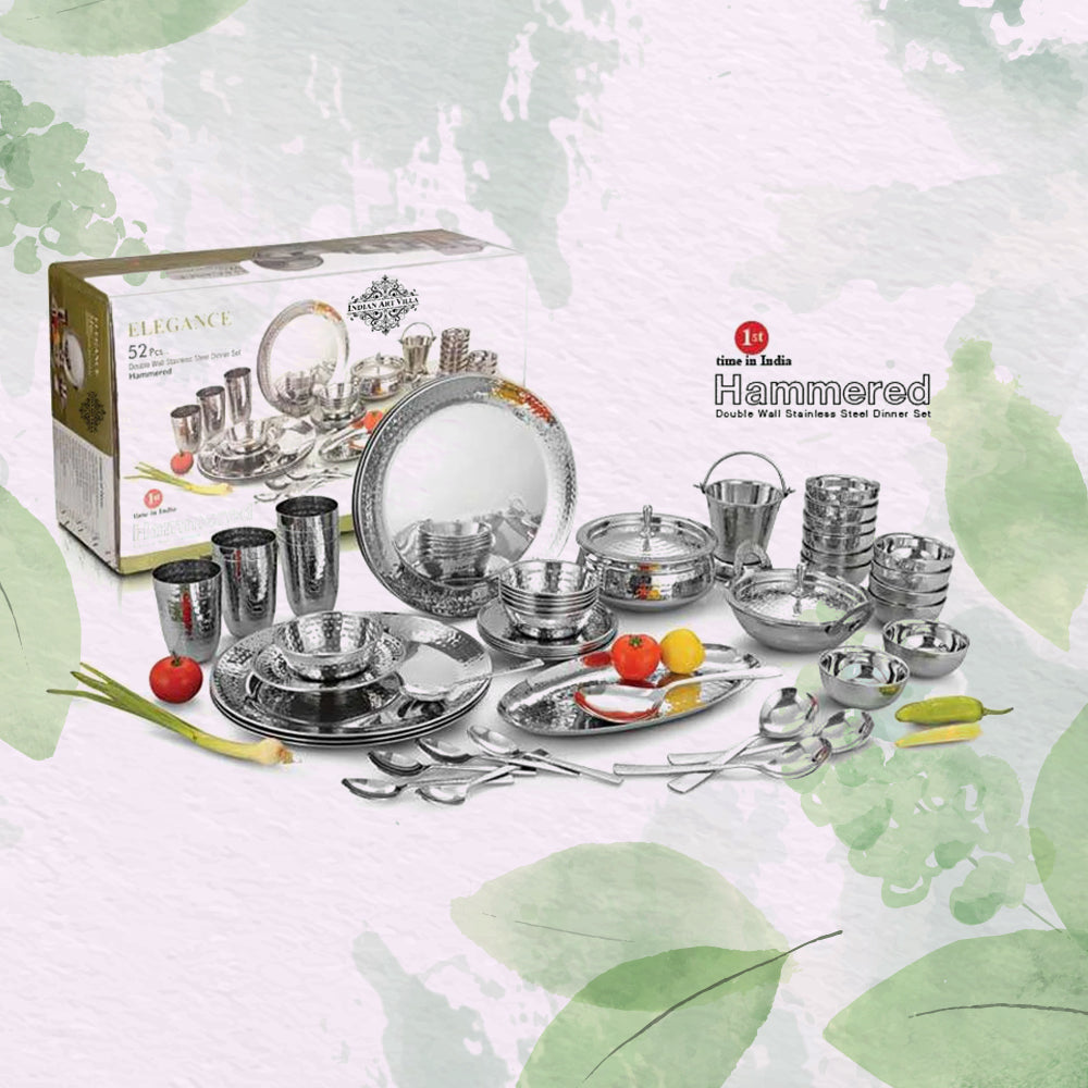 Steel Thali/Dinner Sets