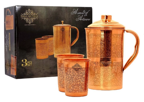 Copper Drinkware Set