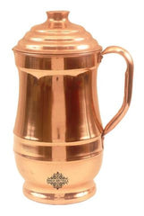 Copper Plain Designer Jug Pitcher