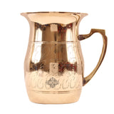 Brass Handmade Designer Jug Pitcher 1650 ML