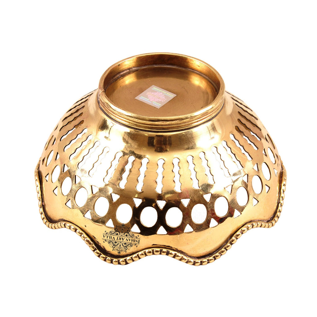 Brass Handmade Designer Small Fruit Bowl, Restaurant Hotel Home Ware