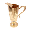 Brass Designer Kalamkari Jug Pitcher with Designer Handle- 1600 ML