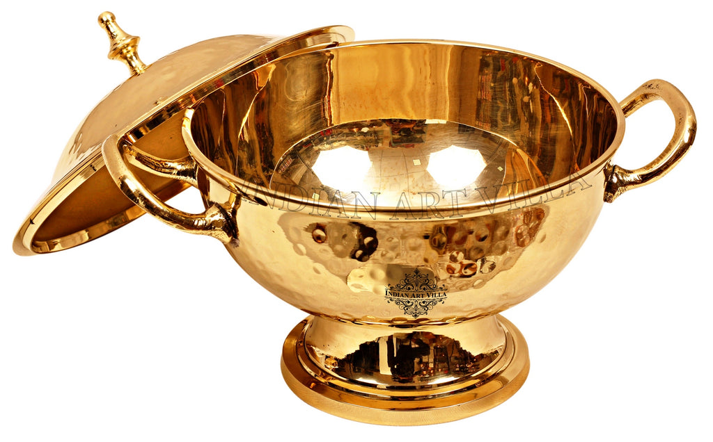 Brass mughlai handi with Lid