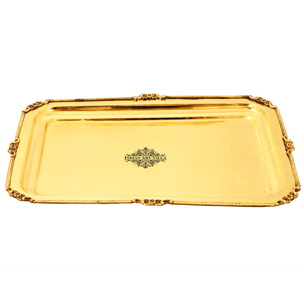 Brass Rectangular Tray