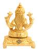 Brass Small Laxmi Ji on Chowki|figurine