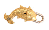 Vintage large Fish Design Lock