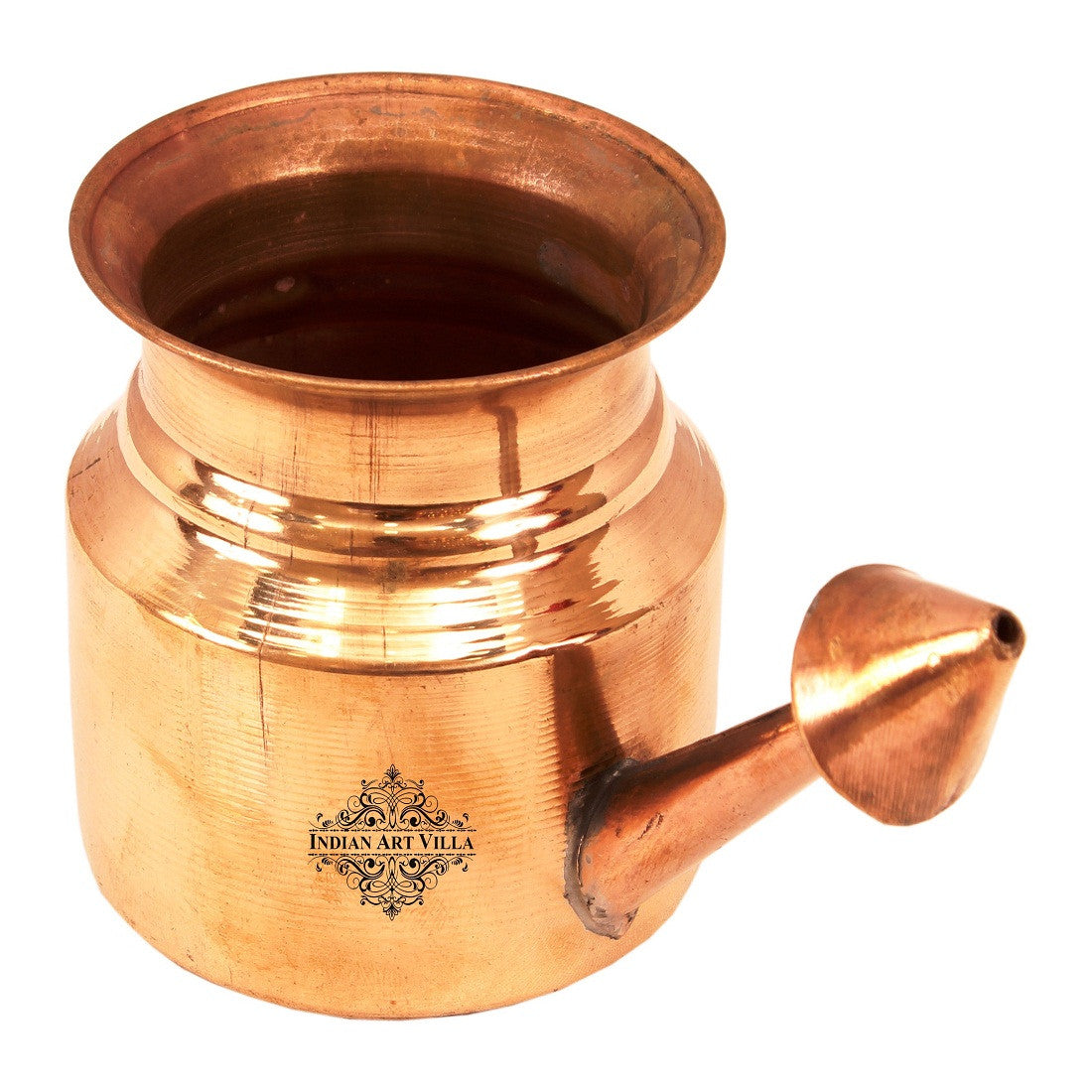 Copper Plain Design Netipot Ramjhara 230 ML