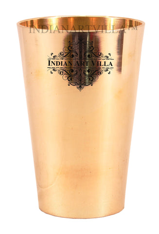 IndianArtVilla Best Quality Bronze Lassi Glass